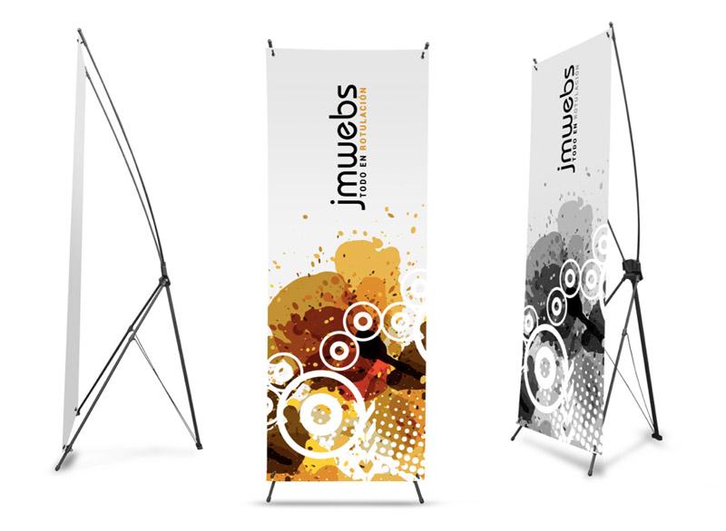X Banner & Roll Banner murah surabaya