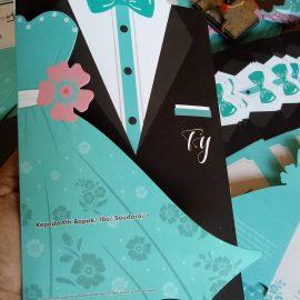 Undangan Tuxedo Gaun TY